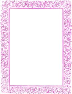 victorian floral border purple - /page_frames/old_ornate_borders/victorian_border/victorian_floral_border_purple.