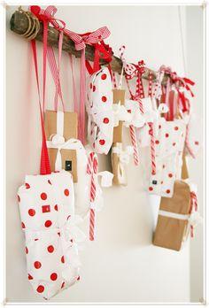 "Pretty advent calendar ("",)"