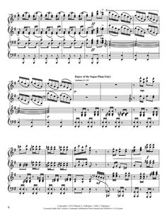 The Nutcraker Medley-Four Hands VIDEOSCORE!!!!!!! | MuseScore