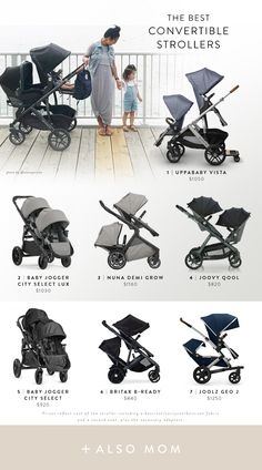 A stroller is one of the most important things you'll buy for your baby, but even with a proper test drive in the store, it's hard to anticipate how a stroller will handle real life. Check out the best strollers according to thousands of parents. City Stroller, Toddler Stroller, Jogging Stroller, Double Baby Strollers, Best Double Stroller, Double Stroller Travel System, Best Double Pram, Best Twin Strollers, Double Stroller For Twins