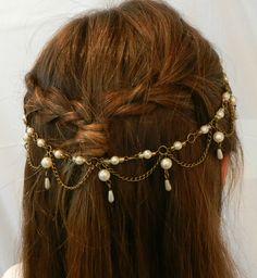 Cadenas, perlas y mostacillas