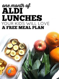 Do you make lunches for you kids? If your goal is to make good food on a budget, we have the meal plan for you! We take all the guesswork out of lunch making. We created this FREE lunch plan with food your kids with love all from Aldi. We have meal planni