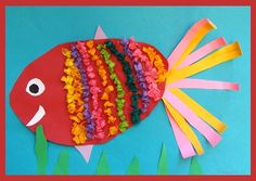 "From exhibit ""Festive Fish"" by Coral Reef Art, Ocean Theme Crafts, Sea Life Art, Underwater Art, Fish Crafts, Kindergarten Art, Art Lessons Elementary, Winter Art, Thing 1"