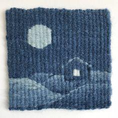 Sarah Swett, four selvedge tapestry