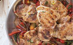 Recetario Chicken Wings, Shrimp, Meat, Food, Barbecue, Gastronomia, Chicken Skin, Food Art, Stone