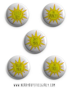 """The Nightman Cometh"" It's Always Sunny in Philadelphia Inspired (Friendship Pins)"