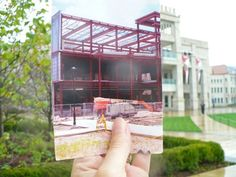 Our brand new Hayden-Clark Alumni Center has come a long way since construction started.