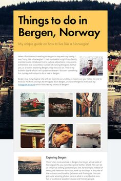 Things to do in Bergen, Norway