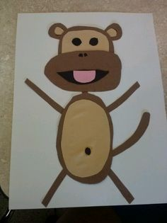 Monkey craft at work! (: