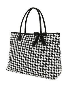 Houndstooth Tote!