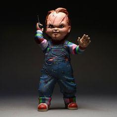 Chucky+Jeu+d´enfant+figurine+Chucky+Mezco+Toys