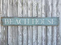 Strand huis teken, 70 kleurenopties, hout strand teken, strand hout teken, Cape…
