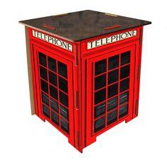 Banco Modular Cabine de Londres - R$138,00