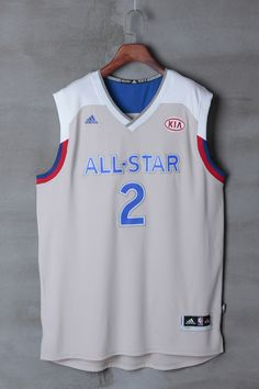 d479738bf NBA All Star  2 Irving Grey Men 2017 New Style Adidas East NBA Jersey. NFL  jersey
