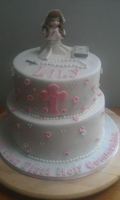 First Communion Cake for girls