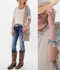 'Keepin' It Neutral' www.buckle.com  I need these boots!!