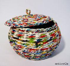 newspaper basket, recycling, paper basket
