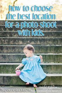 Smocked Auctions Blog - How do I choose the best location for a photo shoot with my kids? Smocked Auctions
