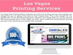 Best printing service in Las Vegas is accessible at Las Vegas Color Printing. We give custom and realistic imprinting in premium quality and extraordinary costs.