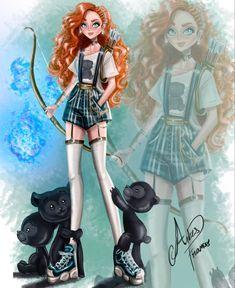 Disney Movie Characters, Disney Movies, Disney Pixar, Disney Artwork, Disney Fan Art, Gravity Falls, Alternative Disney Princesses, Cosplay, Princesas Disney