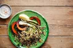 Toasted pearl barley with pistachios and raisins  (page of good barley recipes)