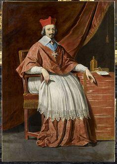 Philippe de Champaigne, - Le Cardinal de Richelieu