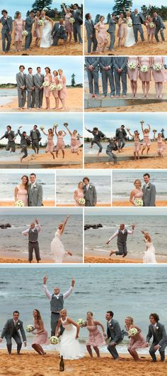 Fun Beach Wedding Photography |   (c) Hope Copeland