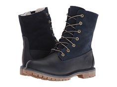 Timberland Authentics Teddy Fleece Waterproof Fold-Down Boot