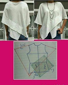 Best 10 – Page 356488126752905766 – SkillOfKing.Com - AmigurumiHouse Dress Sewing Patterns, Blouse Patterns, Clothing Patterns, Blouse Designs, Skirt Patterns, Coat Patterns, Sewing Clothes, Diy Clothes, Sewing Coat