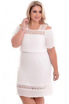 Vestido Plus Size Realist Off Curvy Plus Size, Plus Size Model, Plus Size Tops, Plus Size Fashion For Women, Plus Size Womens Clothing, Clothes For Women, Plus Fashion, Vestidos Plus Size, Plus Size Dresses