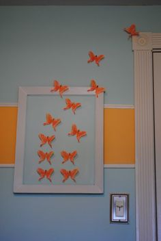 DIY Butterfly Wall Art (Nursery Decor) | Making Lemonade
