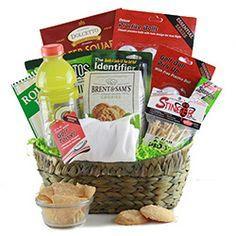 Golf Gifts The Mulligan Golf Gift Basket - Themed Gift Baskets, Diy Gift Baskets, Golf Gifts For Men, Gifts For Family, Baby Food Containers, Homemade Fathers Day Gifts, Gift Baskets For Women, Baby On A Budget, Diy Food