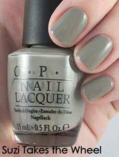 Suzi Takes The Wheel from OPI's Fall 2011 collection.
