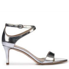 VIA SPIGA Women's Leesa Sandal Silver