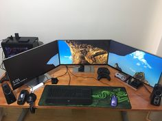 Triple Screen BattleStation