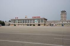 Sunan Airport, North Korea.