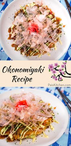- Okonomiyaki, sometimes called Japanese pizza or Japanese pancake, is one of the best dishes to make if you're a beginner japanese cook. It exposes you to a lot of classic Japanese ingredients, but it is Japanese Pizza, Japanese Pancake, Japanese Food, Easy Asian Recipes, Ethnic Recipes, Japanese Recipes, Okonomiyaki Recipe, Dinner Party Recipes, Holiday Recipes