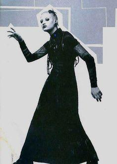 Jenny Dembrow, circa Jenny Talia † Project X magazine, 1993 † Jenny Talia, Michael Alig, The Rite Of Spring, Leigh Bowery, Blitz Kids, Photographs And Memories, Goth Look, New Romantics, Club Kids