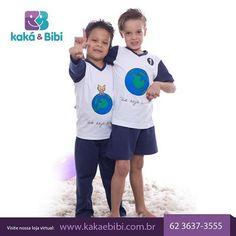 Os pijamas da Kaká e Bibi fazem a noite de sono dos pequenos ser ainda mais tranquila e encantada.