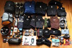potential gear listhttp://joecruz.wordpress.com/2010/07/11/gear-for-alaska-summer-touring/#