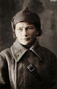 Soviet medic Helena Grebeneva 1942