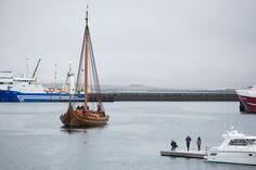 PHOTOS: The World's Biggest Viking Ship - The Reykjavik Grapevine