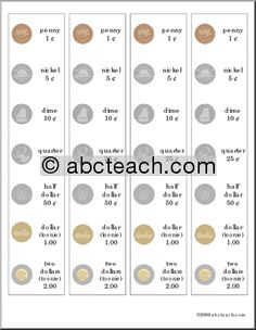 canadian coins coloring pages - 1000 images about math money on pinterest money