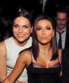 Awesome Lana and Eva Longoria at Women in Film's #Emmys party #WIF Los Angeles Ca Friday 9-18-15