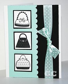 First in Fashion set by love2stampandscrap - Cards and Paper Crafts at Splitcoaststampers