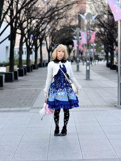 https://flic.kr/p/cH1PpN   Blue Sweet Lolita   Metamorphose temps de fille