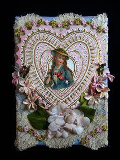 Valentine in Vintage Silks   Flickr - Photo Sharing!