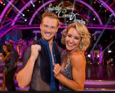 SCD 2016. Greg Rutherford (Olympic medallist)  & Natalie Lowe. BBC