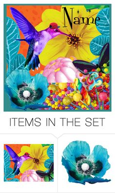 """""""Sweet Summer"""" by krusie ❤ liked on Polyvore featuring art"""