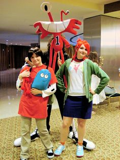 Foster's Home For Imaginary Friends Mac, Frankie and Wilt costumes
